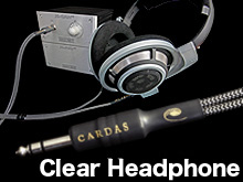 Clear Headphone Cable